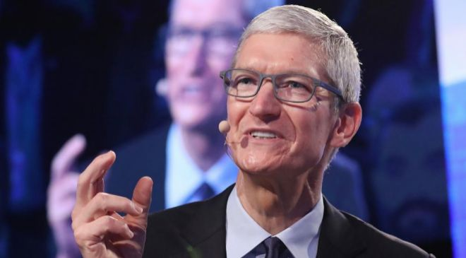 El consejero delegado de Apple Tim Cook.