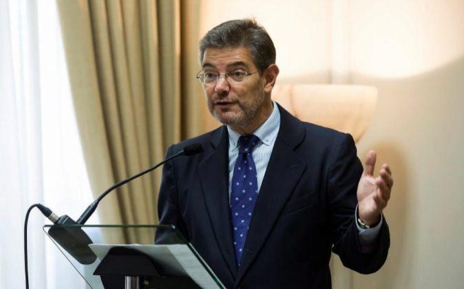 El ministro de Justicia, Rafael Catal, en una imagen de archivo.