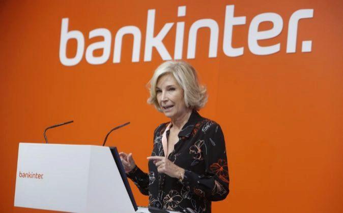 María Dolores Dancausa, consejera delegada de Bankinter.