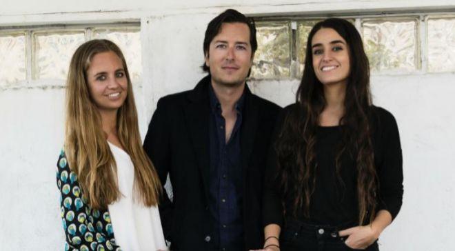 Patricia Ratia, Juan Sánchez y Marta Nicolás, fundadores de...
