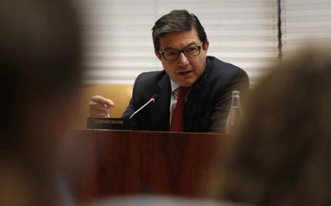 El expresidente del Canal de Isabel II Pedro Calvo.
