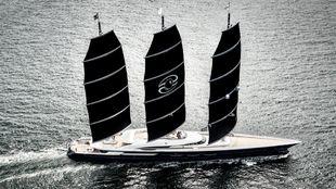 El 'Black Pearl', en plena navegación.