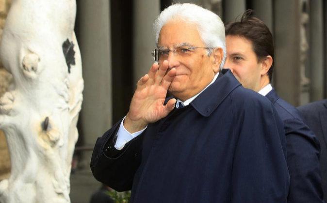Sergio Mattarella, presidente de Italia.