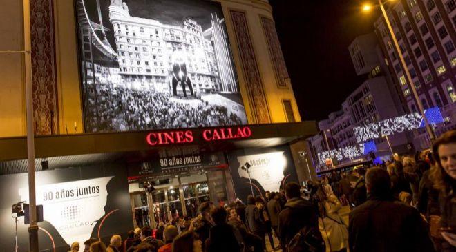 Cines Callao, en la madrileña plaza de Callao