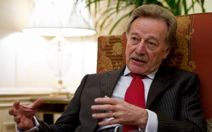 Yves Mersch, miembro del comité ejecutivo del Banco Central Europeo...