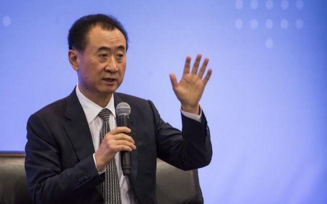 Wang Jianlin, el presidente de Dalian Wanda.