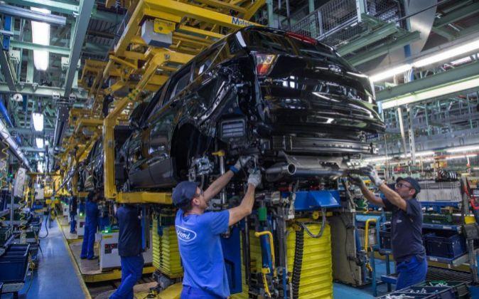 Fábrica de Ford de Almussafes (Valencia).