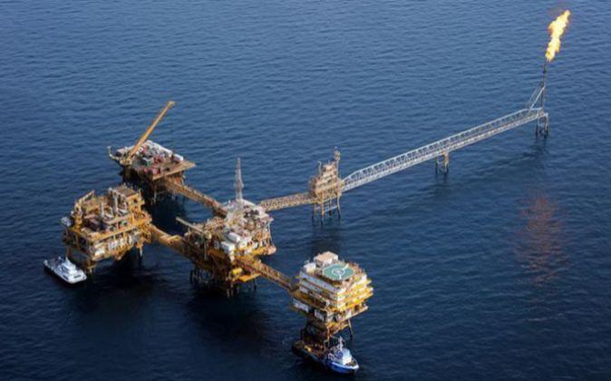 Imagen de una explotación petrolera en Irán