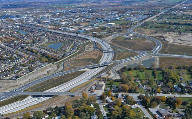 Autopista de Windsor Essex Parkway, proyecto de ACS, en Ontario...