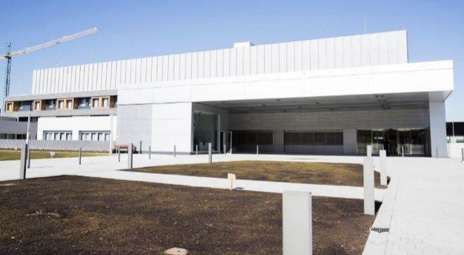 Imagen del nuevo hospital de CUN en Madrid.