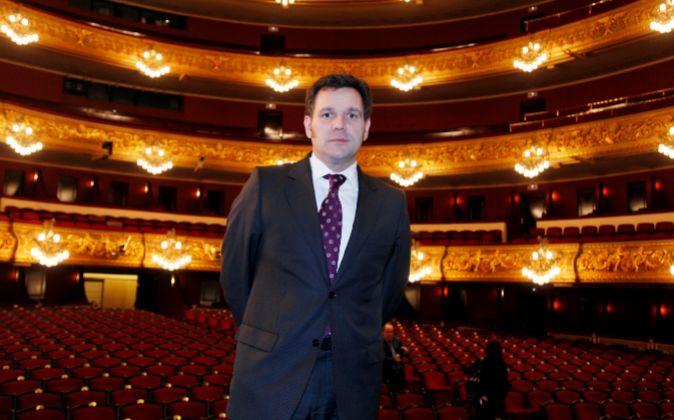 Roger Guasch fichó como director general del Gran Teatre del Liceu en...