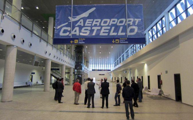 Terminal del aeropuerto de Castellón.