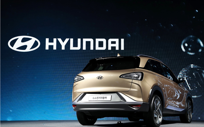 Modelo de Hyundai.