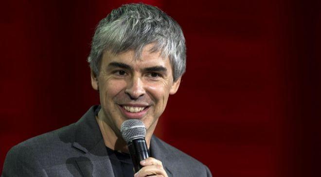 Larry Page, cofundador y primer ejecutivo de Alphabet (Google).