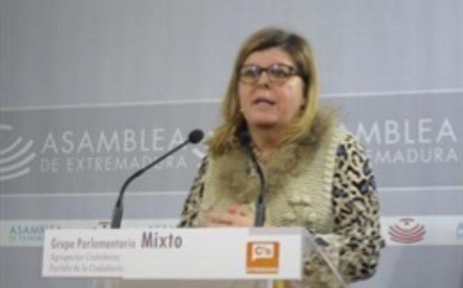 María Victoria Domínguez, portavoz de Ciudadanos en la Asamblea