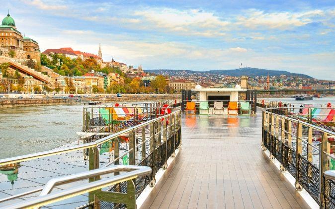 El Crystal Mahler, uno de los buques fluviales más exclusivos del...