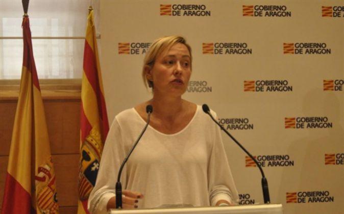 Marta Gastón, consejera de Economía, Industria y Empleo del Gobierno...