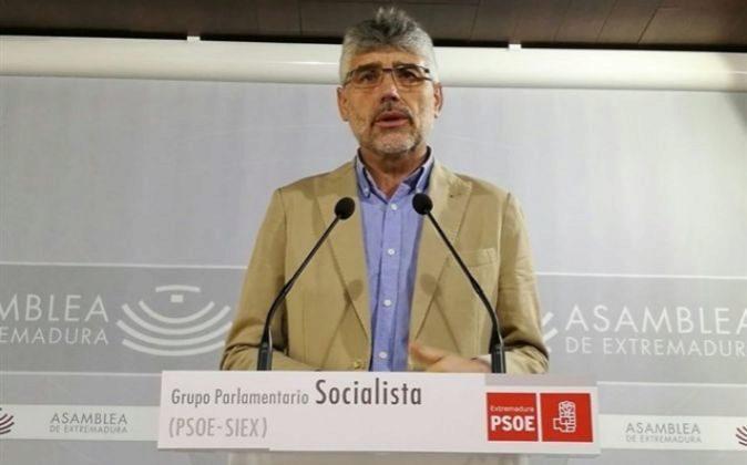 Valentín García, portavoz del Grupo Socialista en la Asamblea de...
