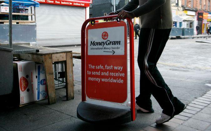 Logo de MoneyGram.