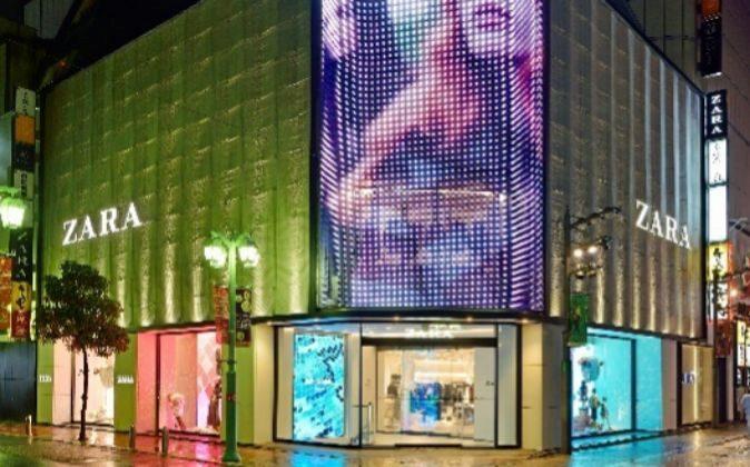 Japón es el país donde Inditex abrió su primera tienda online en...