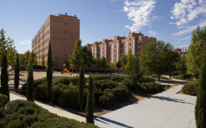 Edificio de Testa Residencial en Madrid.