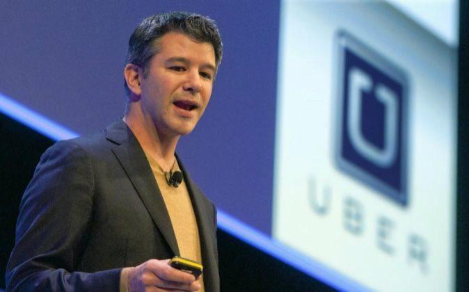 Travis Kalanick, es el exconsejero delegado y cofundador de Uber.