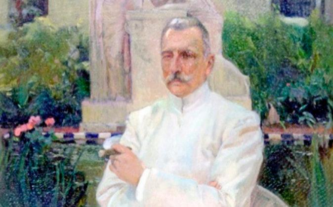 'Retrato de Amalio Gimeno' (1919). Museo de Bellas Artes....