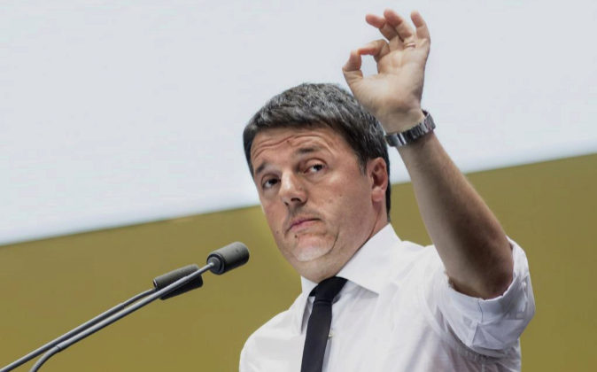 Matteo Renzi, primer ministro italiano.