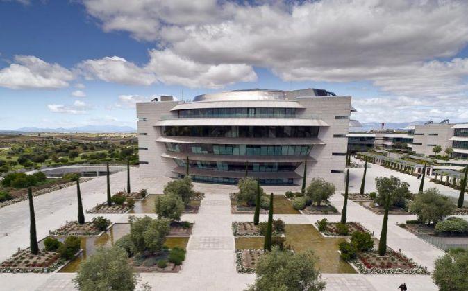 La Ciudad Financiera del Santander en Boadilla del Monte.