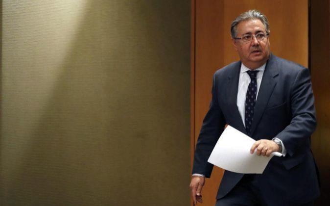 el ministro del Interior, Juan Ignacio Zoido, en una imagen de...