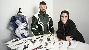 Los diseñadores Víctor Alonso y María Lemus se enamoraron y...