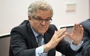 El presidente de la CNMV, Sebastian Albella, en la reunion del consejo...