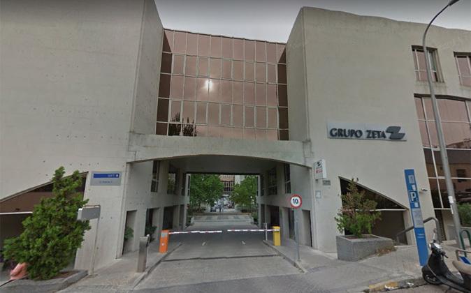Sede del Grupo Zeta en Madrid.