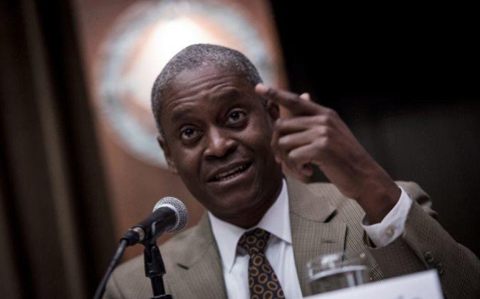 Raphael Bostic, presidente de la Fed de Atlanta