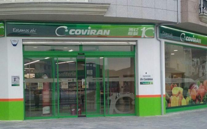 Covirán contaba hasta ahora con una treintena de tiendas en...