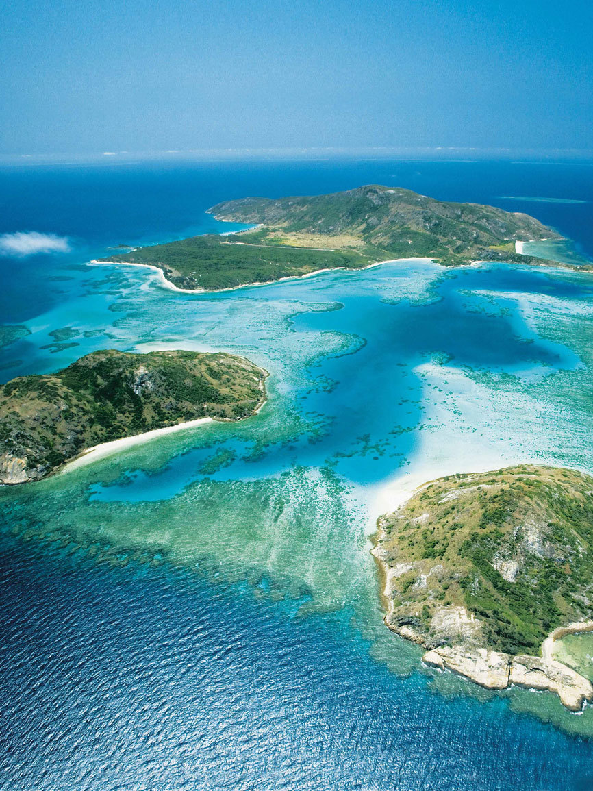 La Gran Barrera de Coral es un lugar mítico para pescar el marlin...