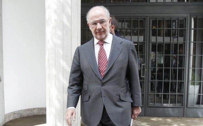 El expresidente de Bankia Rodrigo Rato.