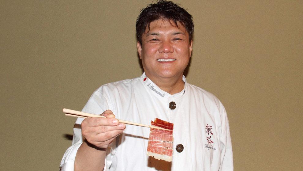 Yamamoto, 47 años, en su restaurante Nihonryori RyuGin.