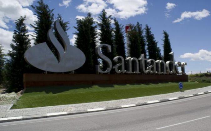 Imagen de la Ciudad Financiera del Santander en Boadilla del Monte...