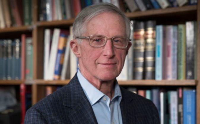William Nordhaus en la Universidad de Yale.