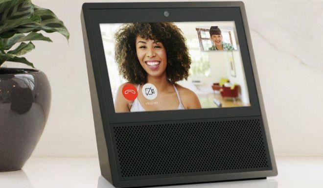 El altavoz Amazon Echo incorpora el asistente de voz Alexa.