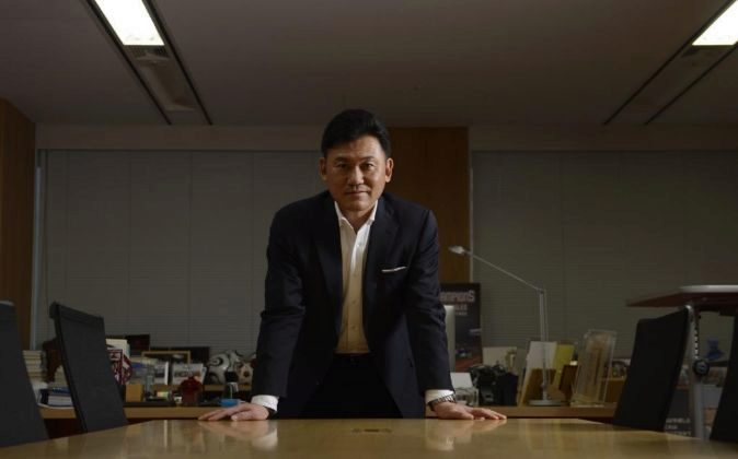 Hiroshi Mikitani, CEO de Rakuten.