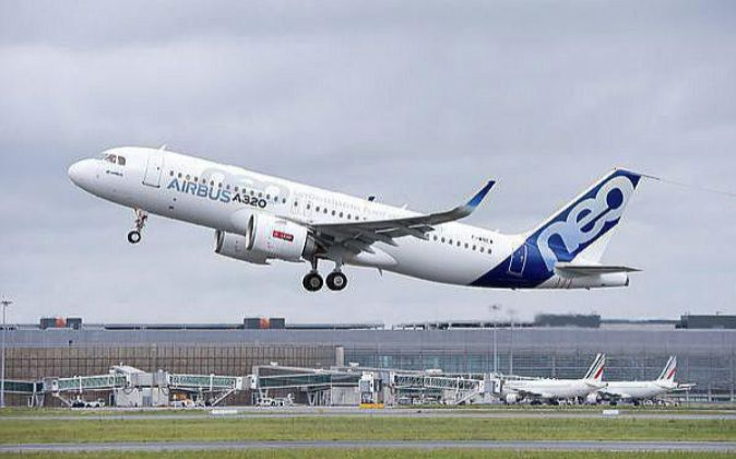 Airbus A320 neo.
