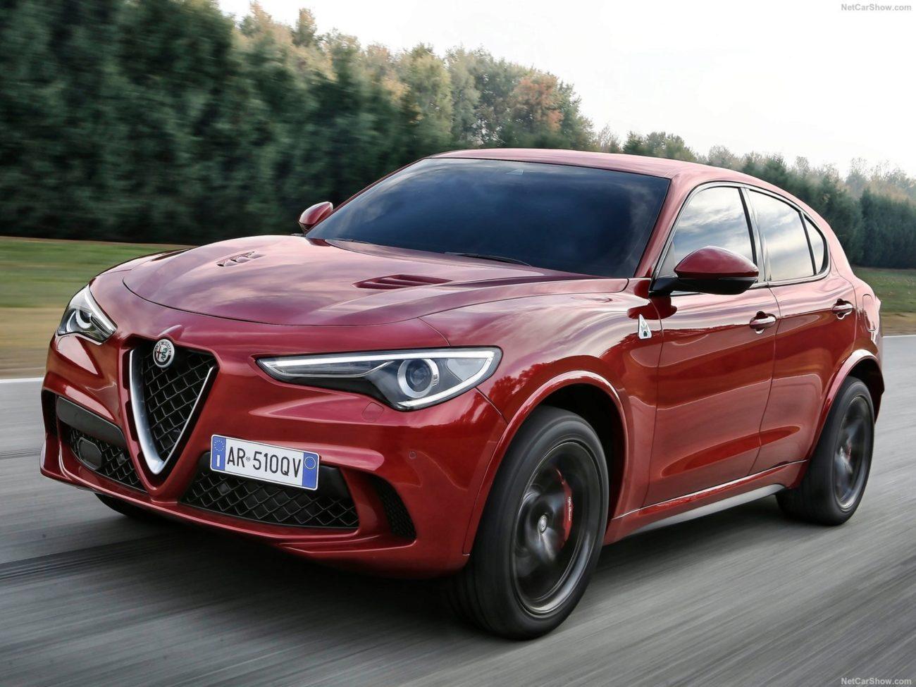 El nuevo Alfa Romeo Stelvio Quadrifoglio Verde es la versión más...