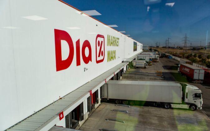 Plataforma logística de Dia en España.