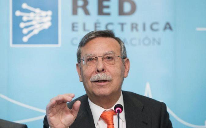 José Folgado, presidente de REE, en la Junta General de Accionistas.