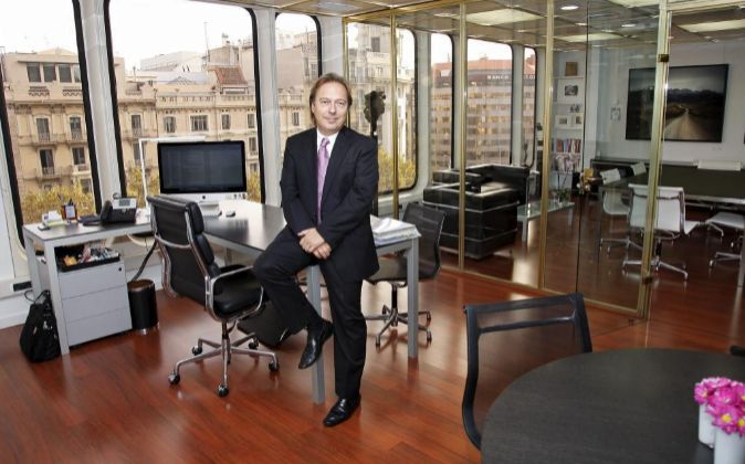 Despacho de Josep Santacreum, consejero delegado de DKV.