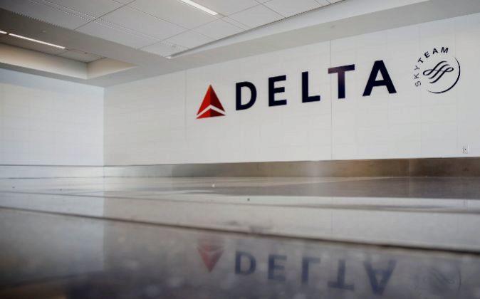 Logo de Delta Air Lines.