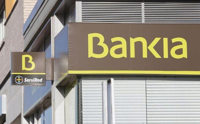 Sucursal de Bankia en Madrid.