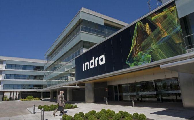 Sede de Indra en Alcobendas